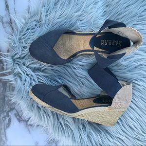 Lauren Ralph Lauren Charla elastic Wedge Sandal